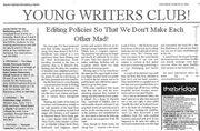 YWC Editing Policies