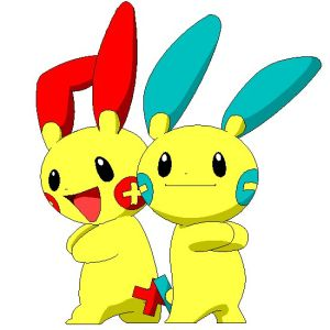 File:Plusle and Minun by iridion.png.jpg