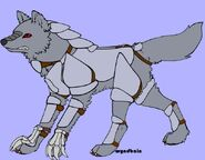 Armoured wolf