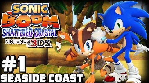 Sonic Boom Shattered Crystal 3DS (1080p) - Part 1 Seaside Coast & Giveaway