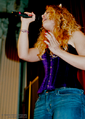 Carrie Hope Fletcher Corset microphone