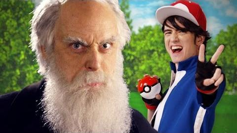 Ash Ketchum vs Charles Darwin. Epic Rap Battles of History