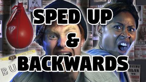 Bart Baker Ed Sheeran- Shape of You Parody Sped Up & Backwards