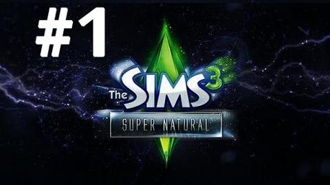 Let's Play The Sims 3 Supernatural - Part 1 - Create-a-Supernatural