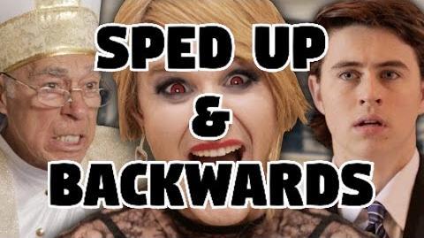 Bart Baker Taylor Swift- Blank Space Parody Sped Up & Backwards