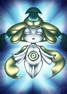 20 years of pokemon jirachi by spinoone-da0xct2