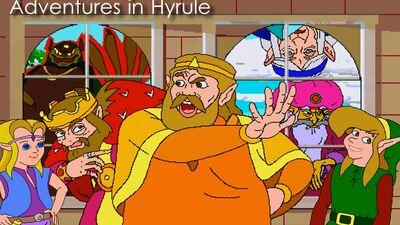 Adventures in Hyrule Logo