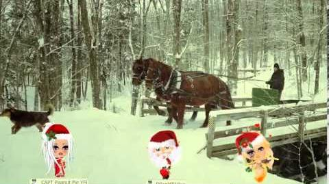 A Snowy Sleigh Ride in YoVille...Merry Christmas!