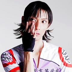 <center>Murata Mitsu as Midousuji Akira.</center>