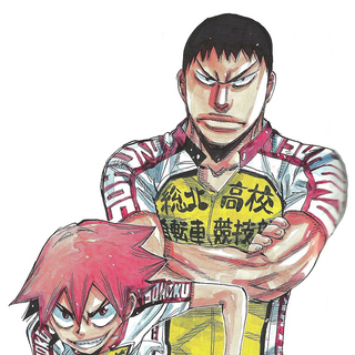 Tadokoro with Naruko.