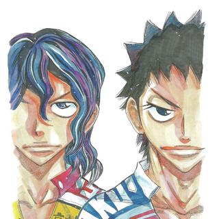 Izumida with Teshima.