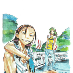 Toudou with Makishima.