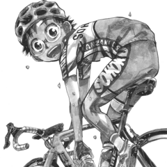 <center>Onoda on the title page for Ride 268</center>