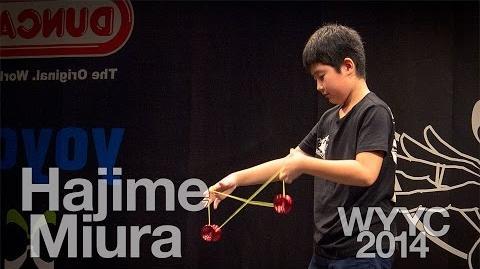 Hajime Miura 1st 3a Finals - 2014 World Yoyo Contest - wyyc2014 - Yoyo Mexico