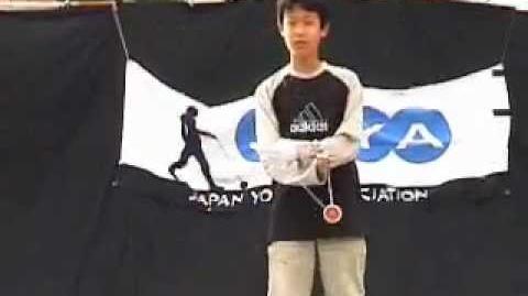 2001 JYYA Japan Yo-Yo Contest A Divs 3rd Hiroyuki Suzuki
