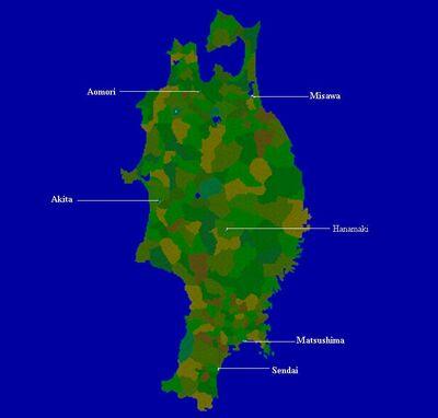Tohoku-map-names