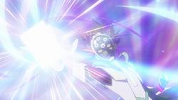 Ep009 Revolver activates his Skill Storm Access