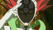 Ep011 Revolver activates the visor of his mask