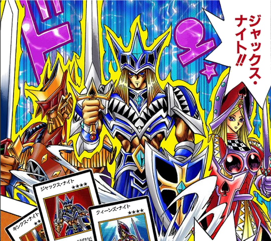 File:King, Jack and Queen's Knight - manga.png