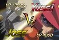 5Dx134 Yusei VS Jose