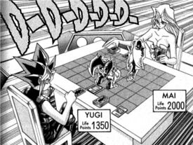 D-056 Dark Yugi VS Mai