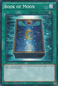 YuGiOh! TCG karta: Book of Moon