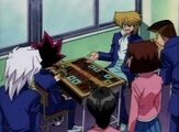 DMx001 Duel Monsters at school