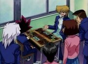 DMx001 Duel Monsters at school