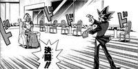 Dark Yugi and Maico's Duel