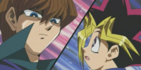 Yami Yugi and Seto Kaiba's Duelist Kingdom Duel