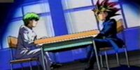 Dark Yugi and Seto Kaiba's school Duel (Toei)