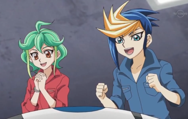 File:Yugo & Rin finish their Duel Runner.png
