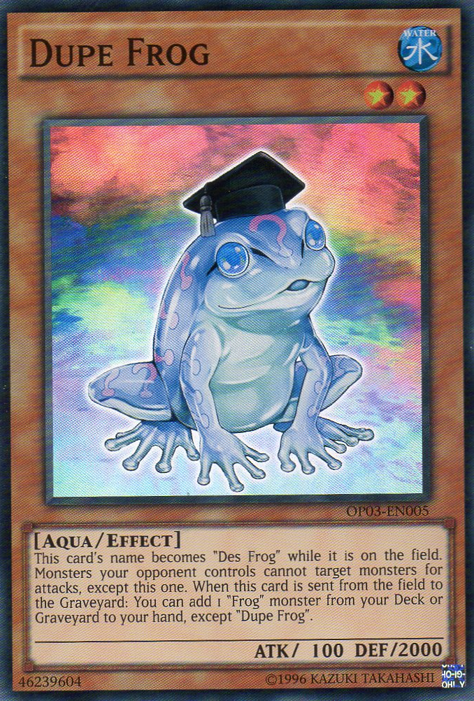 dupe frog yugioh fandom powered by wikia