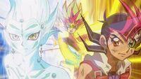 Yuma and Astral obtain ZEXAL III