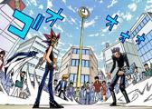 Dark Yugi and the Rare Hunter's Duel (manga)