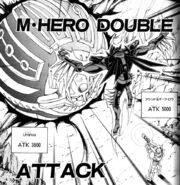 GX-056 Masked Hero Double Attack