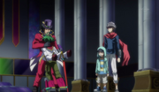 Yuya reunites with is father