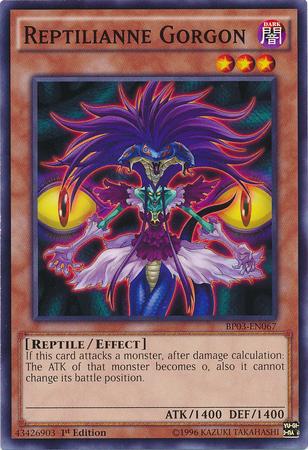 Reptilianne Gorgon | Yu-Gi-Oh! | FANDOM powered by Wikia