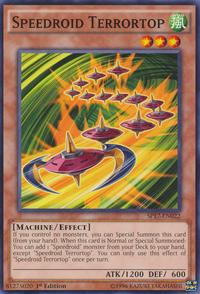 YuGiOh! TCG karta: Speedroid Terrortop