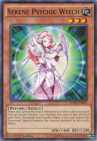 Serene Psychic Witch Yu Gi Oh Fandom Powered By Wikia