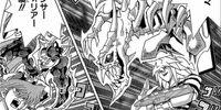 Katsuya Jonouchi and Dark Bakura's Duel