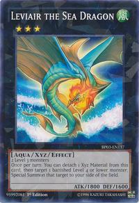 YuGiOh! TCG karta: Leviair the Sea Dragon