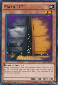 """YuGiOh! TCG karta: Maxx """"C"""""""