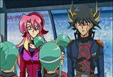 Cyan and Yusei