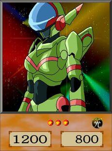 Cyber Knight Ella dubbed anime