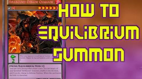 Yu-Gi-Oh! Equilibrium Summoning (How To)