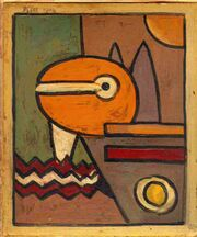Female mother vulva(Paul Klee 1879-1940)