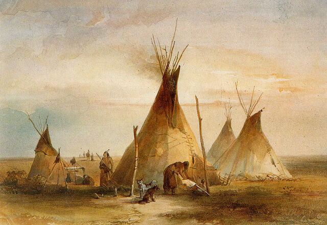 File:Sioux tipi Karl Bodmer(1833).jpg