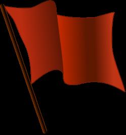 File:Red flag waving svg.png