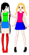 Aitsuki and zeta by flareongirl7-d4rpzaj